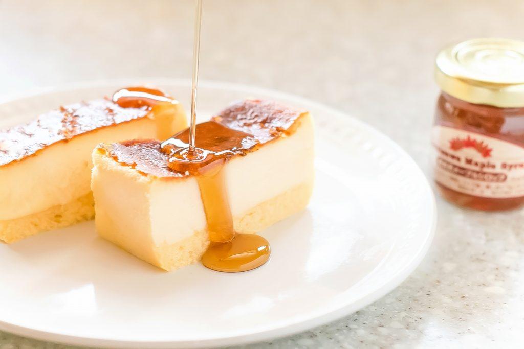 メープルバスクチーズケーキ